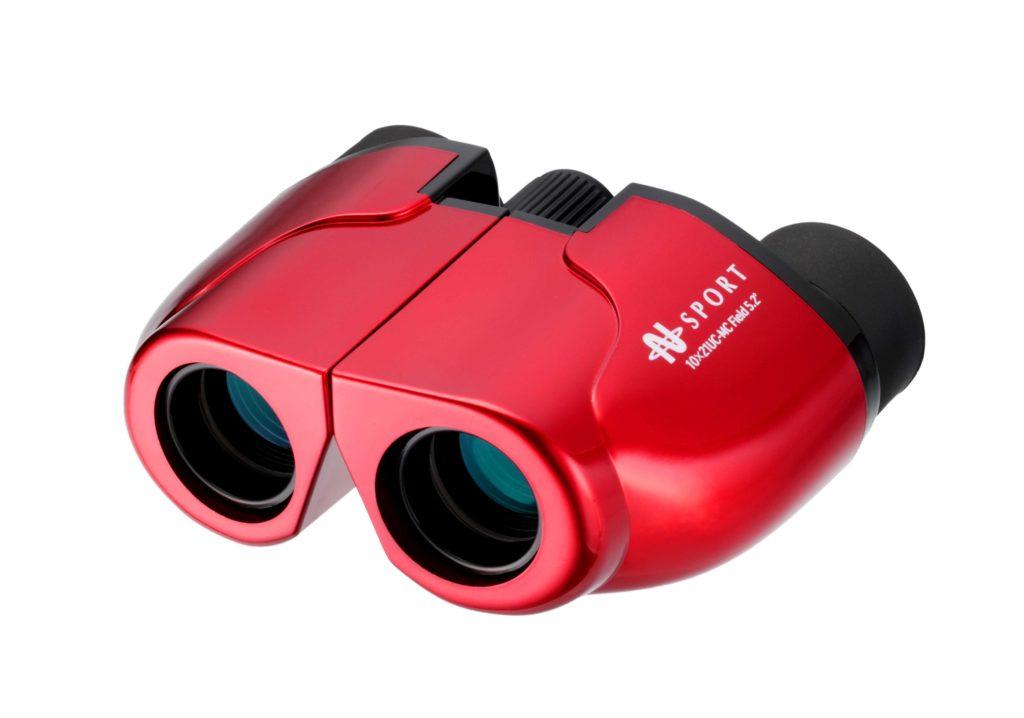 【ナシカ双眼鏡 10倍】販売実績累計36万台の10×21 CR-IR を究極バージョンアップ 10×21 UC-MC-R