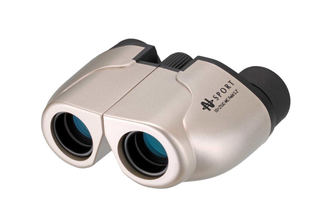 【ナシカ双眼鏡 10倍】販売実績累計36万台の10×21 CR-IR を究極バージョンアップ 10×21 UC-MC-SG