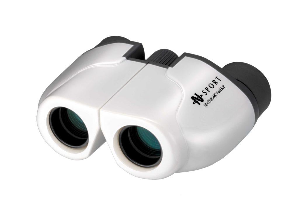 【ナシカ双眼鏡 10倍】販売実績累計36万台の10×21 CR-IR を究極バージョンアップ 10×21 UC-MC-W