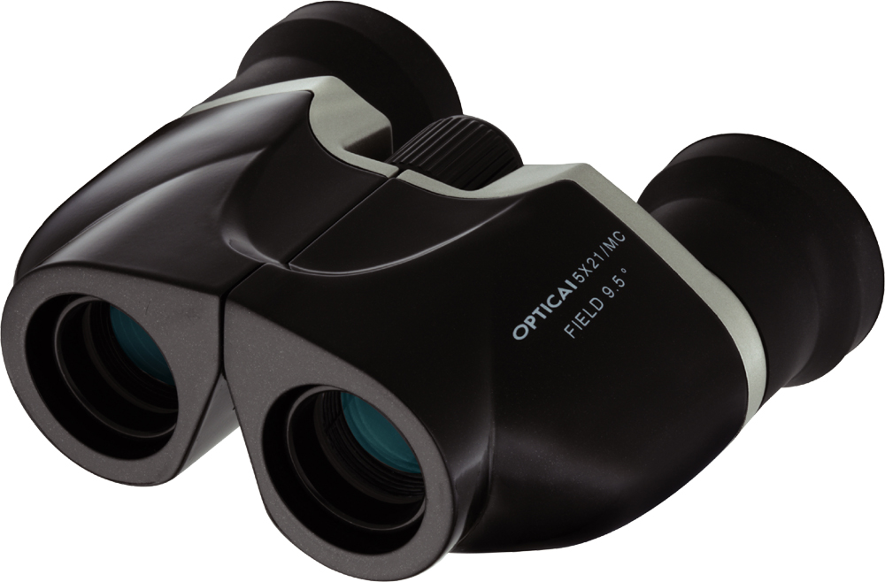 【ナシカ双眼鏡 5倍】より明るく! よりワイドに! 疲れを感じさせない高性能・広視界双眼鏡! OPTICAI 5×21-MC