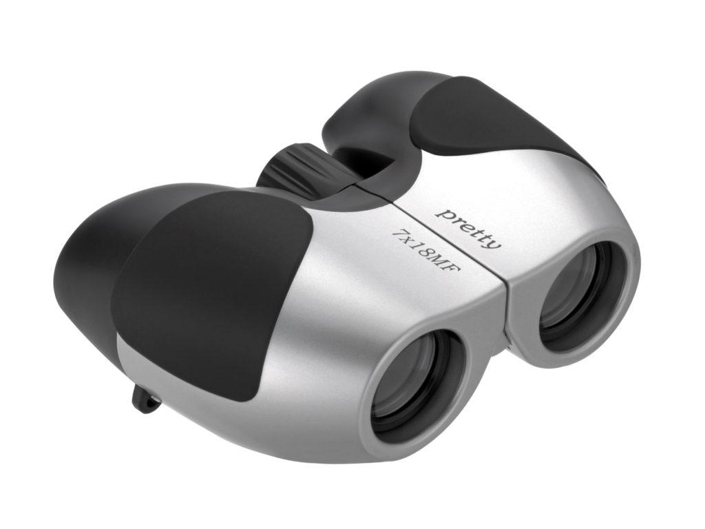 【ナシカ双眼鏡 7倍】持ち運びに便利な軽量コンパクトサイズ 7×18 Pretty