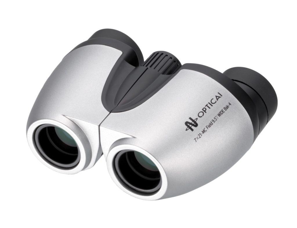【ナシカ双眼鏡 7倍】ワイドレンズでオールマイティに活躍 眼鏡の有無もスマートに対応 疲れを感じさせないコンパクトタイプ 7×21 MC ツイストタイプ