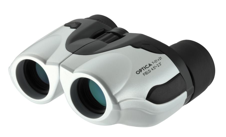 【ナシカ双眼鏡 21倍ズーム】スポーツ観戦、室内でのご使用にピッタリ! OPTICAI 7-21×21 ZOOM
